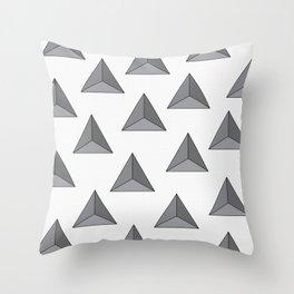 """Tri-angular"" Throw Pillow"