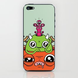 Monster Mind iPhone Skin