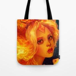 Flame Princess   Tote Bag
