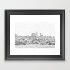 İstanbul Framed Art Print