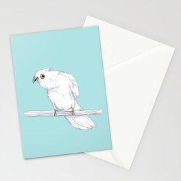 Bald-Eyed Cockatoo Stationery Cards