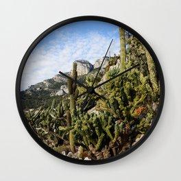 Menton, Cacti Wall Clock