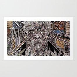 Headspace (Still Frame 1) Art Print