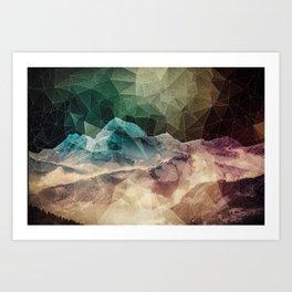 Color Run Art Print