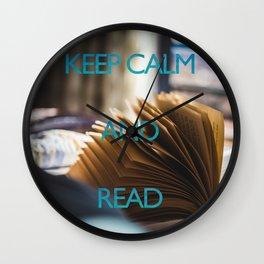 KEEP CALM and read Wall Clock