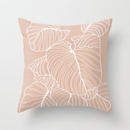 More room for plants Throw Pillow