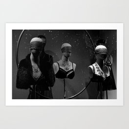 Lost in the Shadows Art Print