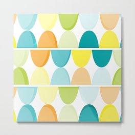 the new colors of summer Metal Print