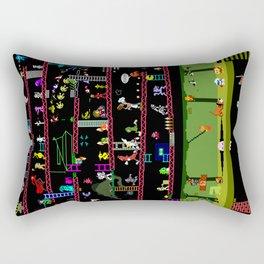 50 Classic Video Games Rectangular Pillow
