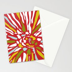Pia - Abstract floral Stationery Cards