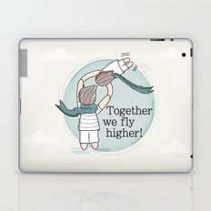 Together we fly higher Laptop & iPad Skin