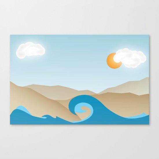 Beach Paradox Canvas Print