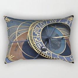 Prague's astronomical clock Rectangular Pillow