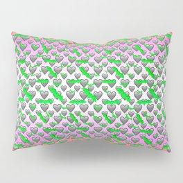 I Heart Batz Pillow Sham