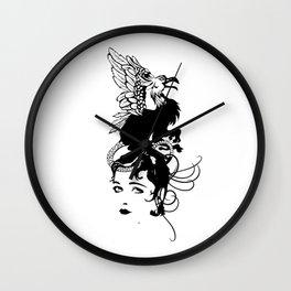 Gothic grotesque Wall Clock