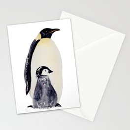 Manchot-pingouin-banquise Stationery Cards