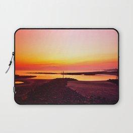 Sun Setting Over Irvine  Laptop Sleeve