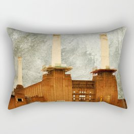 Battersea Power Station - London Rectangular Pillow