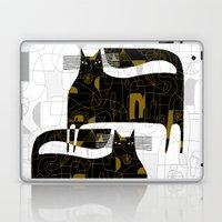 DOODLE CATS Laptop & iPad Skin