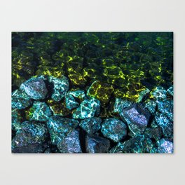 Water Stoppers Canvas Print