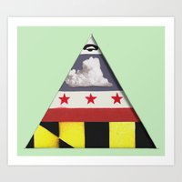 maryland Art Prints featuring Maryland by Jason Douglas Griffin
