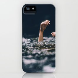 Her Hands (Color) iPhone Case