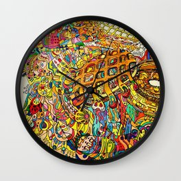 Snack! Snack! Wall Clock
