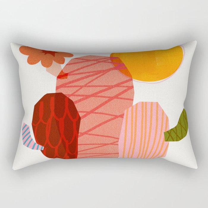 Abstraction_Cactus_&_Sun Rectangular Pillow