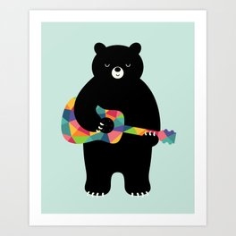 Happy Song Art Print