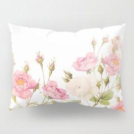Vintage & Shabby Chic - Sepia Roses Flower Garden Pillow Sham