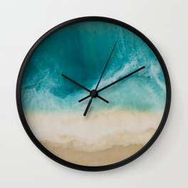 7 mile miracle horizontal Wall Clock