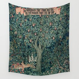 William Morris Greenery Tapestry Part 1 Wall Tapestry