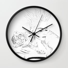Girl Crush #1 - Erika Bearman Wall Clock