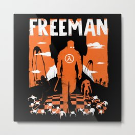 The Freeman Metal Print