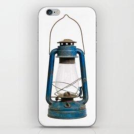 Very old kerosene lamp iPhone Skin