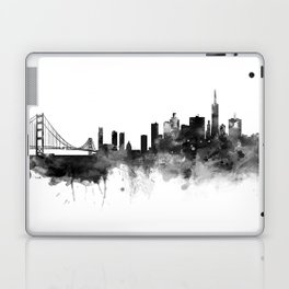 San Francisco Black and White Laptop & iPad Skin