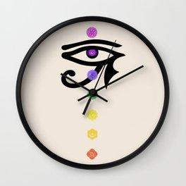 Chakra and horus Wall Clock
