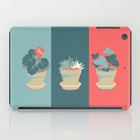 succulent iPad Cases featuring Succulent by Rabbits In The Sky