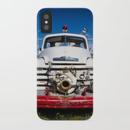 Old Fire Engine iPhone Case