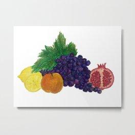Fruit still-life Metal Print