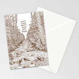 Don't Think About Your Cell Phone Stationery Cards