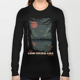 Visit Camp Crystal Lake Long Sleeve T-shirt