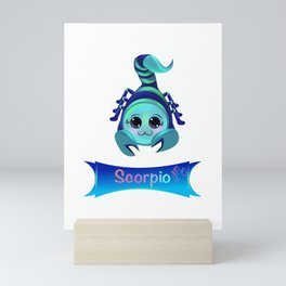 Fancy Scorpio Mini Art Print