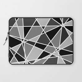 Shattered Charcoal Laptop Sleeve