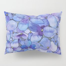 Watercolour Hydrangea Kissenbezug