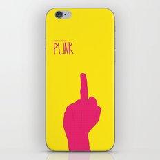 Music Signs : Punk (3/3) iPhone & iPod Skin