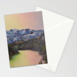 Alpine Sunrise Stationery Cards