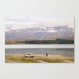 Alone at the Lake Canvas Print