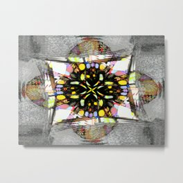Star Map Metal Print
