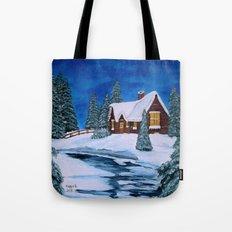 Winter landscape-1 Tote Bag